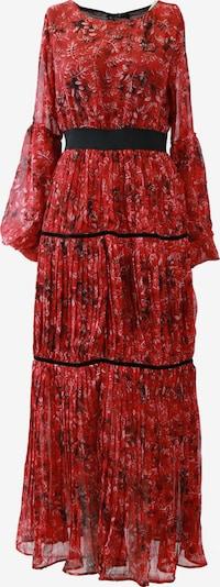 faina Robe en rouge rubis / rouge feu / noir, Vue avec produit