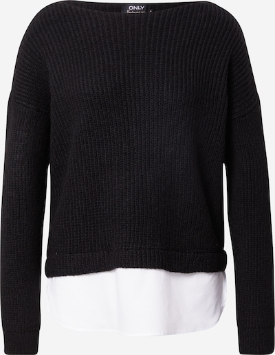 Megztinis iš ONLY, spalva – juoda / balta, Prekių apžvalga