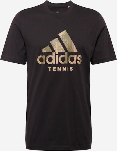 ADIDAS PERFORMANCE Sportshirt in khaki / oliv / schwarz / weiß, Produktansicht