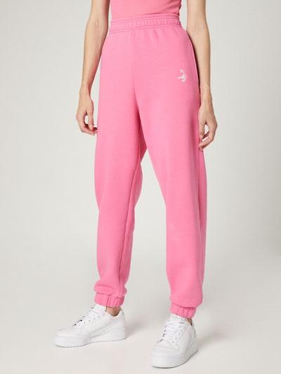 Kelnės 'Sarah' iš VIERVIER, spalva – rožinė, Modelio vaizdas
