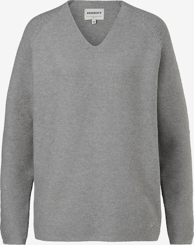 PADDOCKS Pullover in hellgrau, Produktansicht