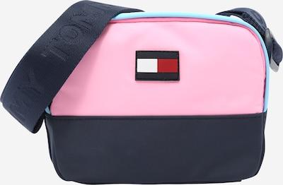 TOMMY HILFIGER Чанта в нейви синьо / светлосиньо / светлорозово / бяло, Преглед на продукта