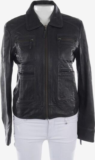 Comptoirs des Cotonniers Lederjacke in M in schwarz, Produktansicht
