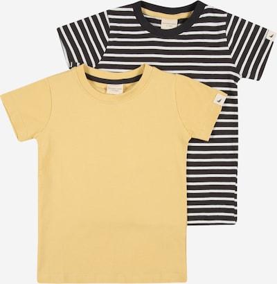 Turtledove London Shirt in gelb / schwarz / weiß, Produktansicht