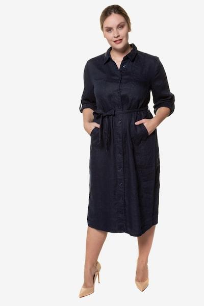 Ulla Popken Kleid '722049' in schwarz, Modelansicht