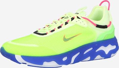 Nike Sportswear Sneaker in blau / limette / pink, Produktansicht