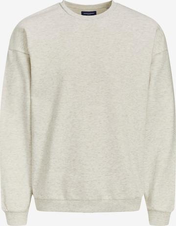 JACK & JONES Sweatshirt 'Brink' i hvit