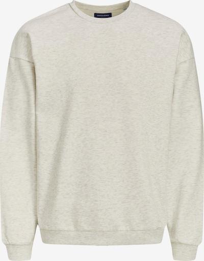 JACK & JONES Sweatshirt 'Brink' in weißmeliert, Produktansicht
