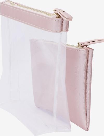 Six Make up tas in de kleur Rosa / Transparant, Productweergave