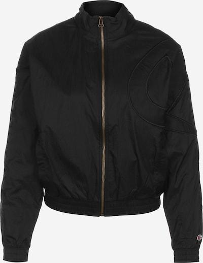 Champion Authentic Athletic Apparel Tussenjas in de kleur Zwart: Vooraanzicht