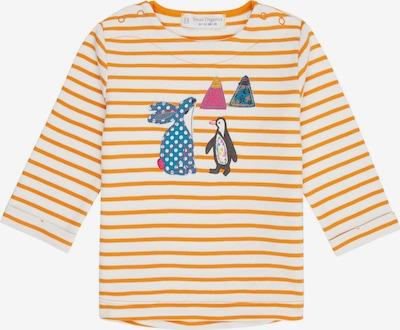 Sense Organics Shirt 'LEJA' in gelb / weiß, Produktansicht