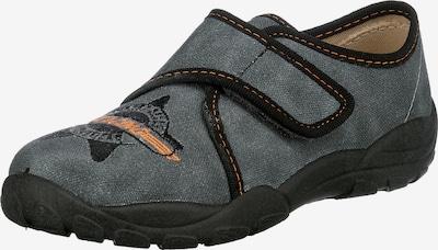 ELEFANTEN Pantofle 'Pan Pepe' - tmavě šedá / oranžová / černá, Produkt