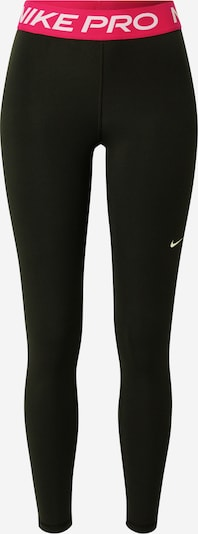 Pantaloni sport NIKE pe roz neon / negru / alb, Vizualizare produs