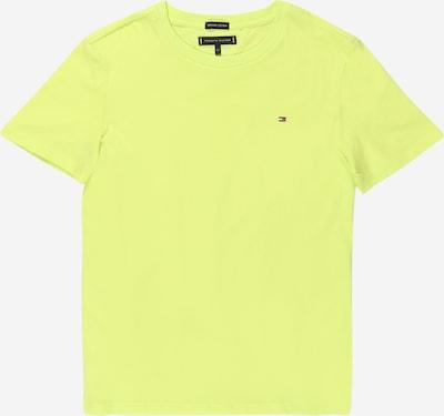 TOMMY HILFIGER T-Shirt in zitrone, Produktansicht