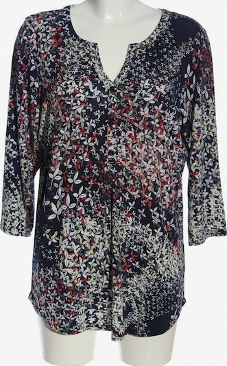 Paprika Langarm-Bluse in XL in rot / schwarz / weiß, Produktansicht