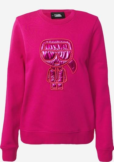 Karl Lagerfeld Sweat-shirt en rose, Vue avec produit