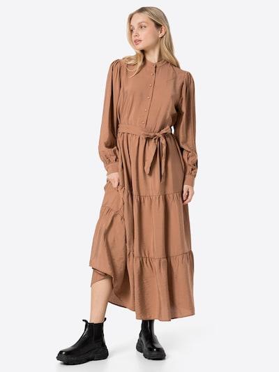 Rochie tip bluză DeFacto pe maro, Vizualizare model