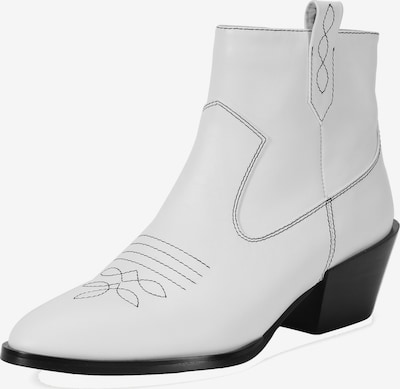Ekonika Cowboystiefelette 'PORTAL' in weiß, Produktansicht