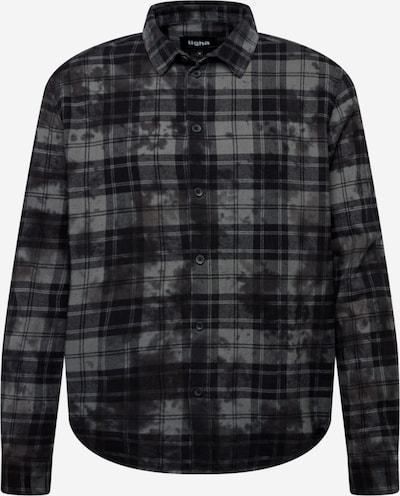 tigha Košeľa 'Elior' - sivá / čierna, Produkt
