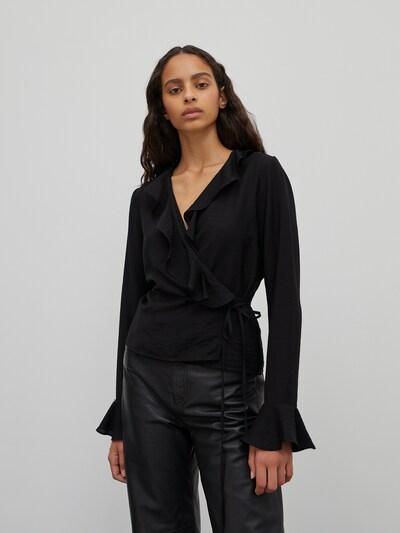 EDITED Bluse 'Skyler' in schwarz, Modelansicht