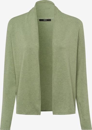 zero Cardigan in grün, Produktansicht