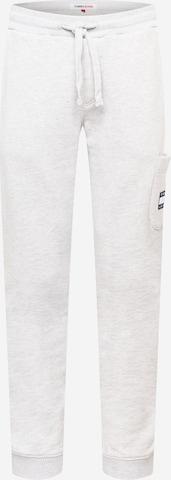 Tommy Jeans Byxa 'Badge' i grå