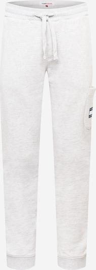 Tommy Jeans Housut 'Badge' värissä vaaleanharmaa, Tuotenäkymä