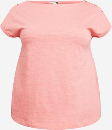 Esprit Curves T-Shirt in Orange