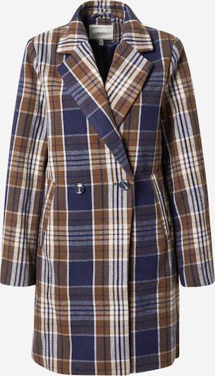 ICHI Prechodný kabát 'Jannet' - modrá / hnedá / biela, Produkt