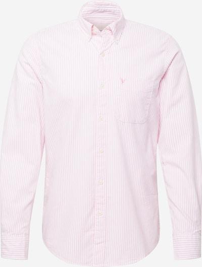 Cămașă American Eagle pe roz deschis / alb, Vizualizare produs