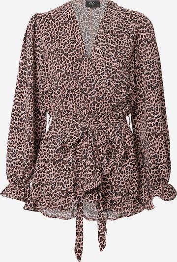 AX Paris Bluzka w kolorze brązowy / różowy / czarnym, Podgląd produktu