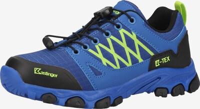 Kastinger Outdoorschuh in blau / neongrün / schwarz, Produktansicht