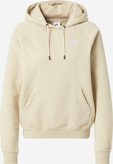 Nike Sportswear Sweatshirt in creme / weiß, Produktansicht