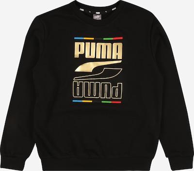 PUMA Sweatshirt 'Rebel' in gelb / gold / hellgrün / mischfarben / schwarz, Produktansicht