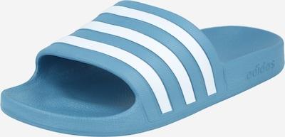 ADIDAS PERFORMANCE Plážová/koupací obuv 'ADILETTE AQUA' - kouřově modrá / bílá, Produkt