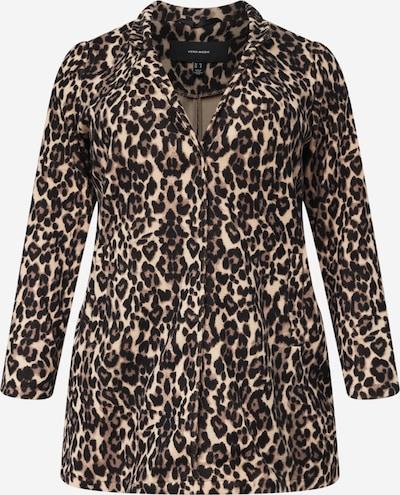 Vero Moda Curve Prehodna jakna 'KATRINE' | bež / rjava / črna barva, Prikaz izdelka