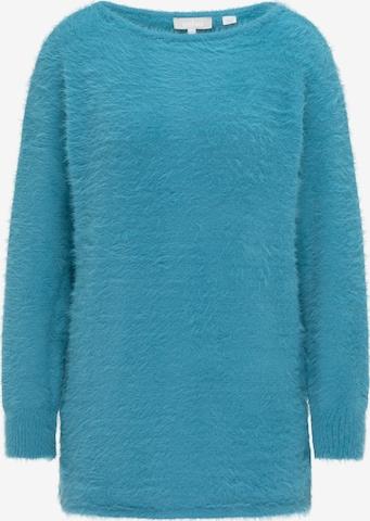 Usha Strickpullover in Blau