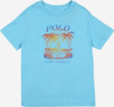 POLO RALPH LAUREN Majica u svijetloplava / žuta / crvena, Pregled proizvoda