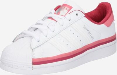 ADIDAS ORIGINALS Trampki 'Superstar' w kolorze czerwony / melonowy / białym, Podgląd produktu