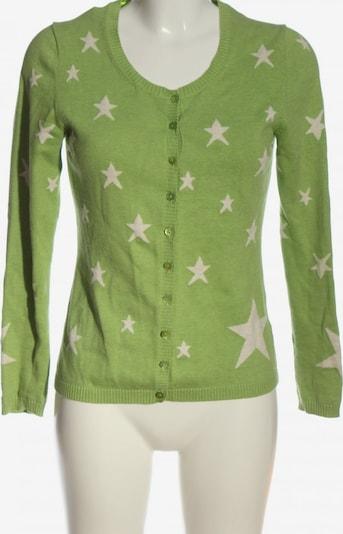 Donnell Strick Cardigan in S in grün / weiß, Produktansicht