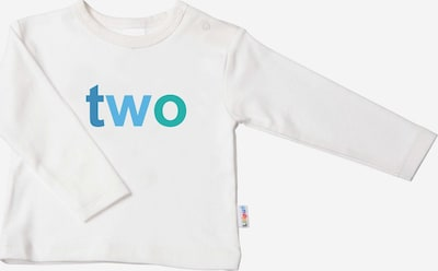 LILIPUT Cooles Langarmshirt mit 'TWO'-Print in ecru, Produktansicht