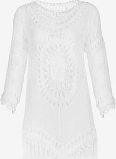 IZIA Tunikakleid in weiß, Produktansicht