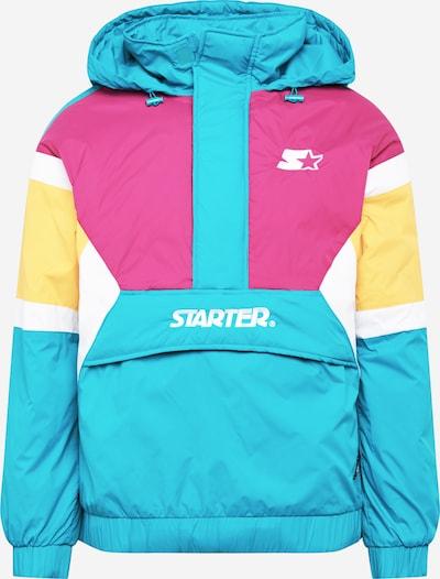 Demisezoninė striukė iš Starter Black Label , spalva - turkio spalva / geltona / rožinė / balta, Prekių apžvalga