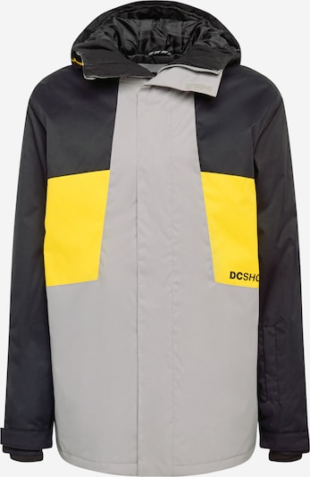 DC Shoes Outdoorová bunda 'DEFY ' - žlutá / šedá / antracitová, Produkt
