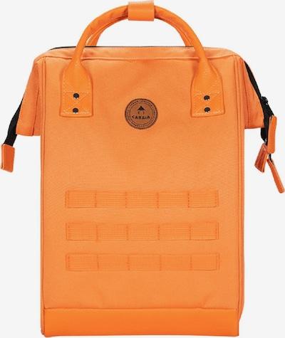 Cabaia Rucksack in braun / orange, Produktansicht