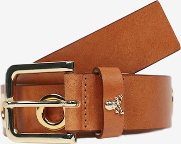 Cintura di Scalpers in marrone