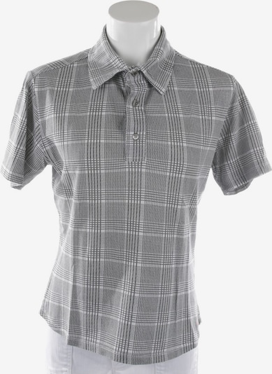 Peuterey Poloshirt in S in hellgrau / schwarz, Produktansicht