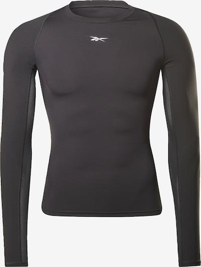 Reebok Sport Shirt in schwarz, Produktansicht