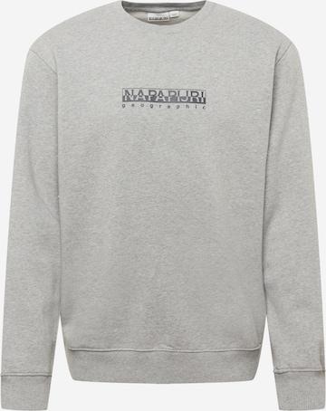 NAPAPIJRI Sweatshirt in Grau