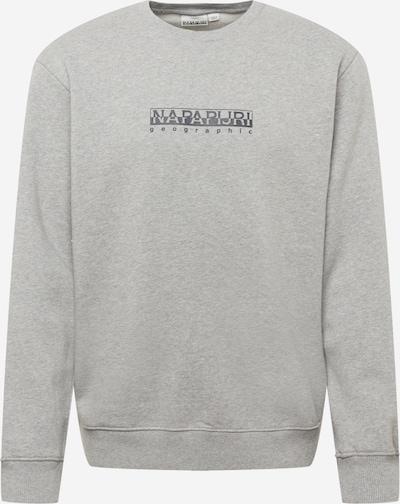 NAPAPIJRI Sweatshirt in basaltgrau / graumeliert, Produktansicht